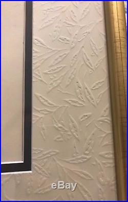 Walt Disney Sleeping Beauty Merryweather Production Cel Gold Art Corner Framed