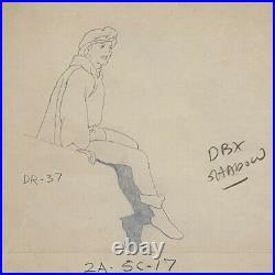 Walt Disney Snow White and the Seven Dwarfs Production Drawing of The Prince