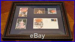 Walt Disney The Adventures of Ichabod and Mr. Toad Framed Art & Stamp Collection