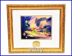 Walt Disney The Little Mermaid 10th Anniversary Pin Set Framed Numbered