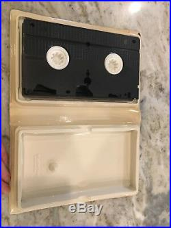 Walt Disney The Little Mermaid VHS Black Diamond Classic 913 + Framed Poster