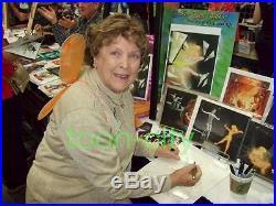 Walt Disney Tinker bell Dreams Do Come True Hand Signed Margaret Kerry NEW Frame