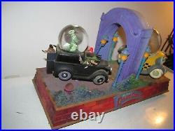 Walt Disney Who Framed Roger Rabbit musical water ball snow globe lighted works