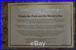 Walt Disney Winnie The Pooh Tigger Bouncing Back To Bed Framed Cel