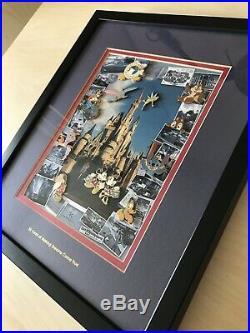Walt Disney World 35th Anniversary Pin Set Frame Mickey Minnie Figment WDW