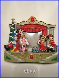 Walt Disney World 3D Musical Frame Nutcracker Christmas 4X6 Rare