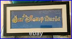 Walt Disney World Character/Icon Frame Set, 16 Pin Set 2005 #45511