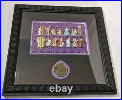 Walt Disney World Framed Pin Set, Haunted Mansion, NIP
