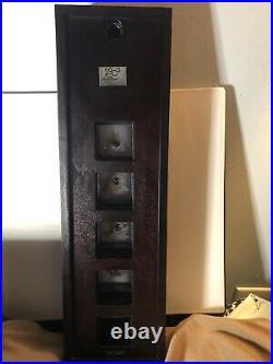 Walt Disney World LE 200 Framed Pin Clock WDW Millennium VERY RARE