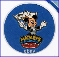 Walt Disney World Mickey's Philharmagic Framed Print & Pin Set