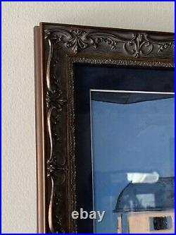Walt Disney World Riviera Resort EXCLUSIVE Art Framed The Aristocats Kitten Prop