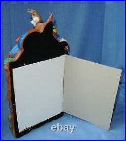 Walt Disney World Splash Mountain Brer Rabbit, Fox, Briar Patch Larg Picture Frame