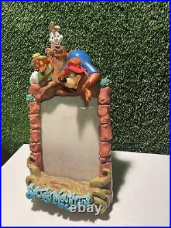 Walt Disney World Splash Mountain Ride Magic Kingdom 3-D Picture Frame- Rare-EUC