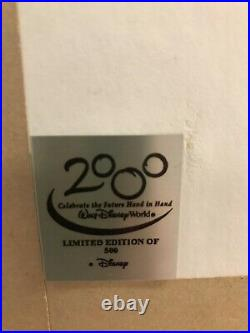 Walt Disney World Tapestry Of Nations 2000 Millennium Celebration Framed Pin Set