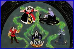 Walt Disney World WDW Villains Mirror Framed Pin Set