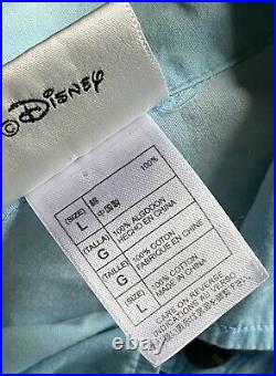 Walt Disney World Who Framed Roger Jessica Rabbit Surf Hawaiian Hula Shirt Large