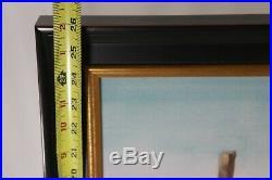Walt Disney's Adventureland Entrance Concept Art Large Framed Print
