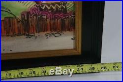 Walt Disney's Enchanted Tiki Room Concept Art Large Framed Print