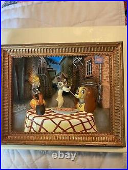 Walt Disney's Lady and the Tramp 3D Limited Edition Bella Notte Collector Frame