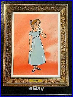 Walt Disney's Peter Pan Original'picture Frame' Lobby Card Set (8) R-1970's