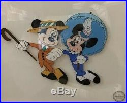 Walt Disney serigraph cell Certified limited edition Framed