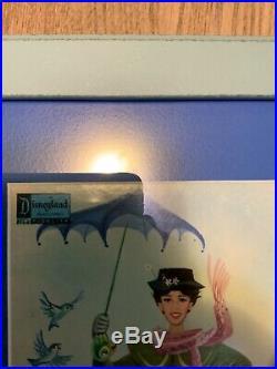 Walt Disney signed Mary Poppins Record Album Framed