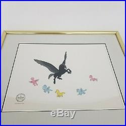 Walt Disneys Disney Fantasia Pastoral Pegasus Framed Serigraph Animation Cel