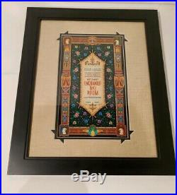 Walt Disneys Enchanted Tiki Room By Jeremy Fulton Framed and Double Matted RARE