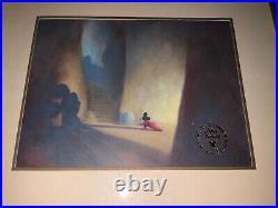 Walt Disneys Masterpiece Fantasia Limited Commemorative Edition Coa Framed