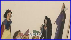 Walt Disneys Snow White And Seven Dwarf, Prince Charming And Witches NO FRAME