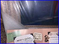 Walts Magic Moment Peter Ellenshaw Framed Giclee 105/150 Disney Artwork 2001
