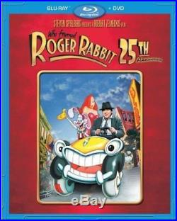 Who Framed Roger Rabbit 25th Anniversary Edition Blu-ray + DVD All Regions