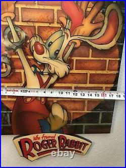 Who Framed Roger Rabbit Wooden Sign, Walt Disney World