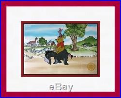 Winnie the Pooh Walt Disney L/ED Animation Sericel Custom Framed FREE SHIPPING