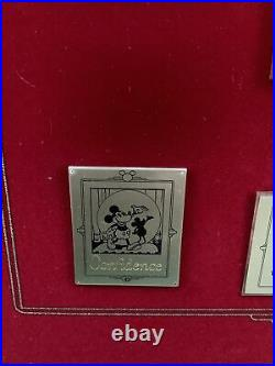 With Walt Four C's Commemorative Framed Series #8 LE Pin Set 2002