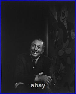 Yousuf KARSH Walt Disney, 1956 / Printed 1987 / ICP label